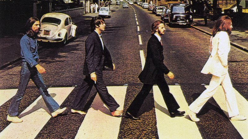 Illustration for article titled The isolated vocals for The Beatles' Abbey Road medley are just plain lovely