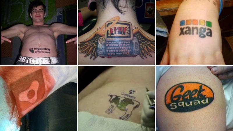Illustration for article titled The 9 Most Terrible Tech Tattoos