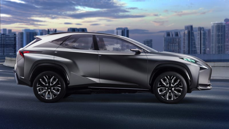 Illustration for article titled Lexus To Display New LF-NX Concept At Tokyo Motor Show