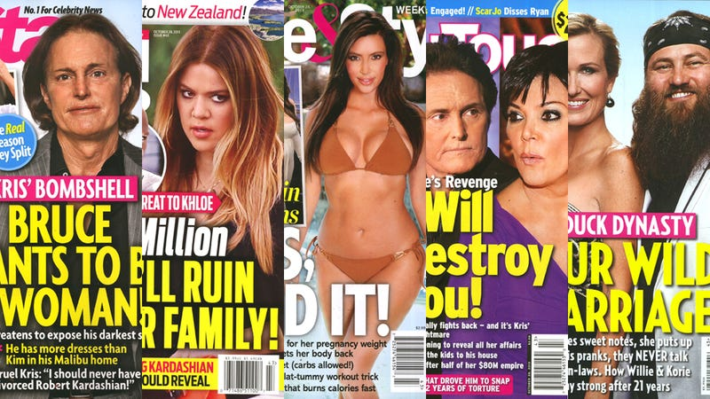 Illustration for article titled This Week in Tabloids: Bruce Jenner Wants to Be a Woman