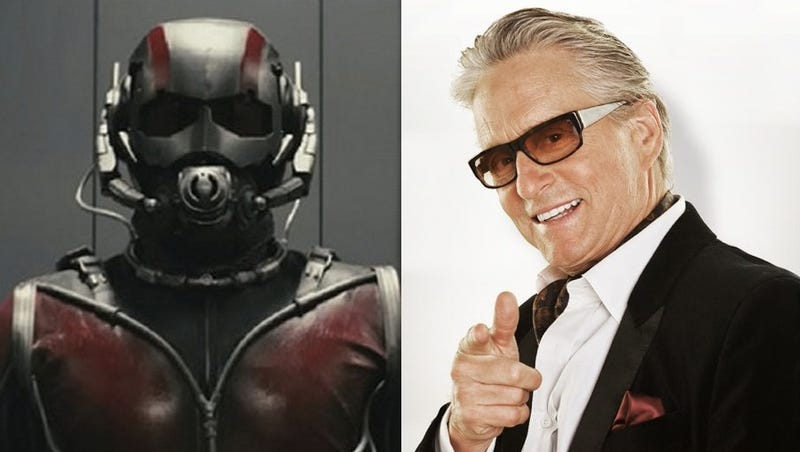 Illustration for article titled Michael Douglas is playing Hank Pym in Ant-Man!