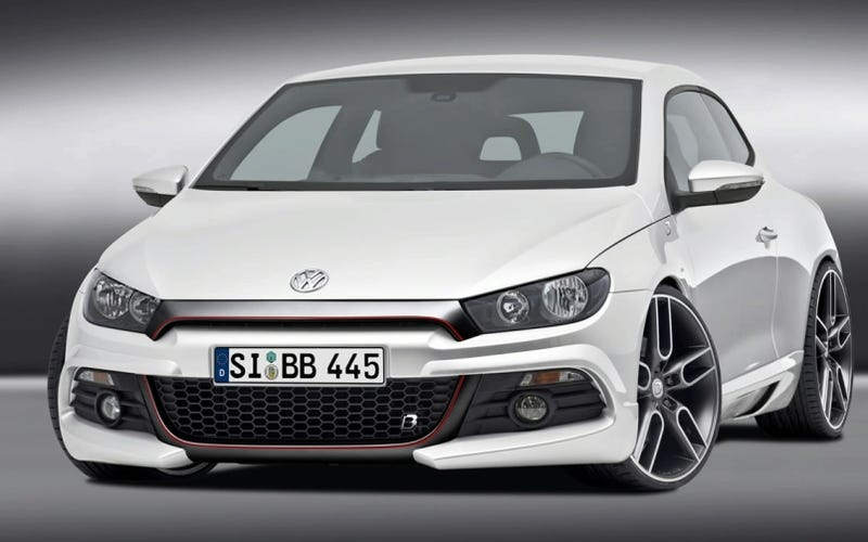 Illustration for article titled B&B Tuning Volkswagen Scirocco EVO R Gets Serious With 350HP