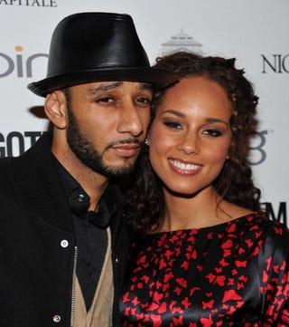 Newlyweds Swizz Beatz and Alicia Keys