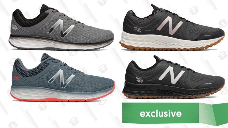 New Balance Kaymin Sneakers | $35 | Joe's New Balance Outlet | Promo code KINJADEALS