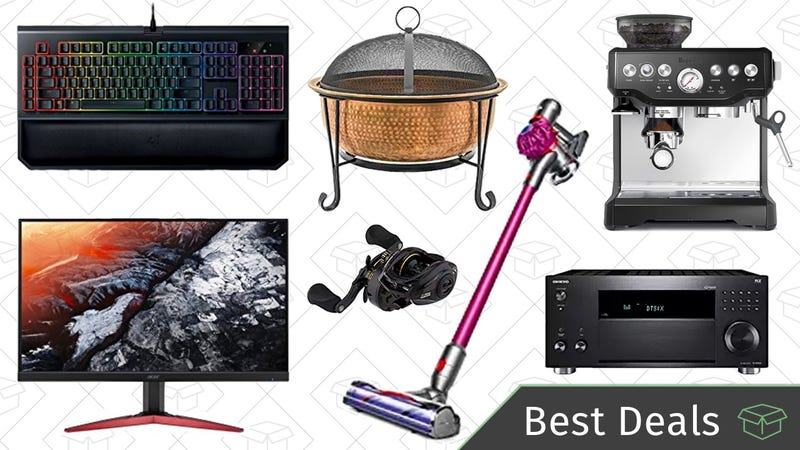 Illustration for article titled Monday's Best Deals: PC Gaming Sale, Cordless Dyson Vacuum, Lightning Cables, and More