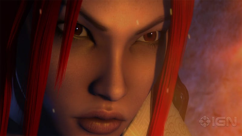 Illustration for article titled Why Is Heavenly Sword Getting An Animated Film? This Lady Right Here.