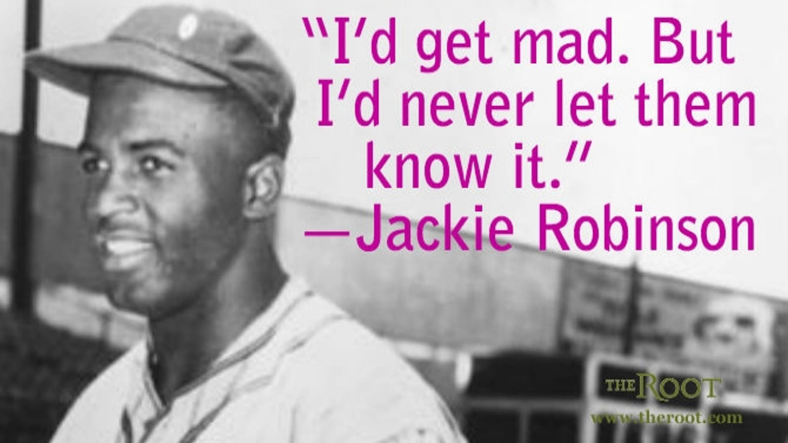 Quote of the day jackie robinson on willpower