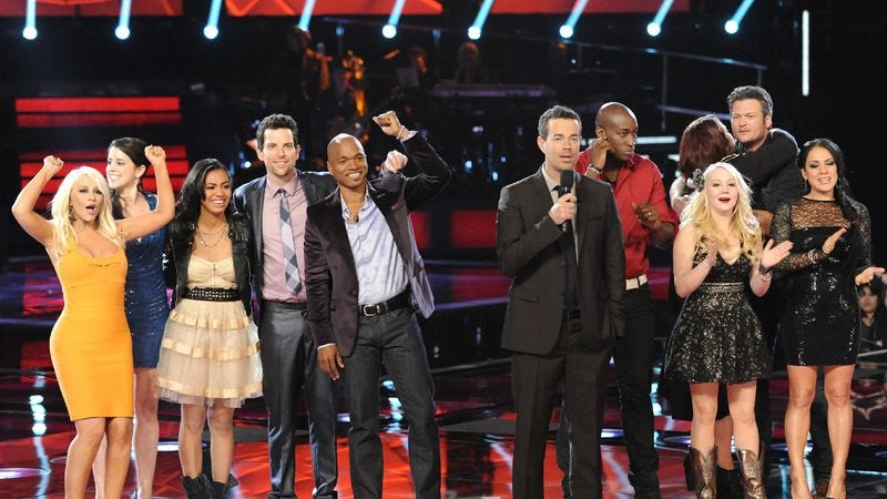 """Illustration for article titled The Voice: """"Live Performance, Week 2"""""""