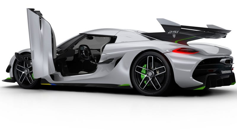 Illustration for article titled Here's How the Koenigsegg Jesko's 1,600 Horsepower Twin-Turbo V8 Is Even Better Than the Regera's