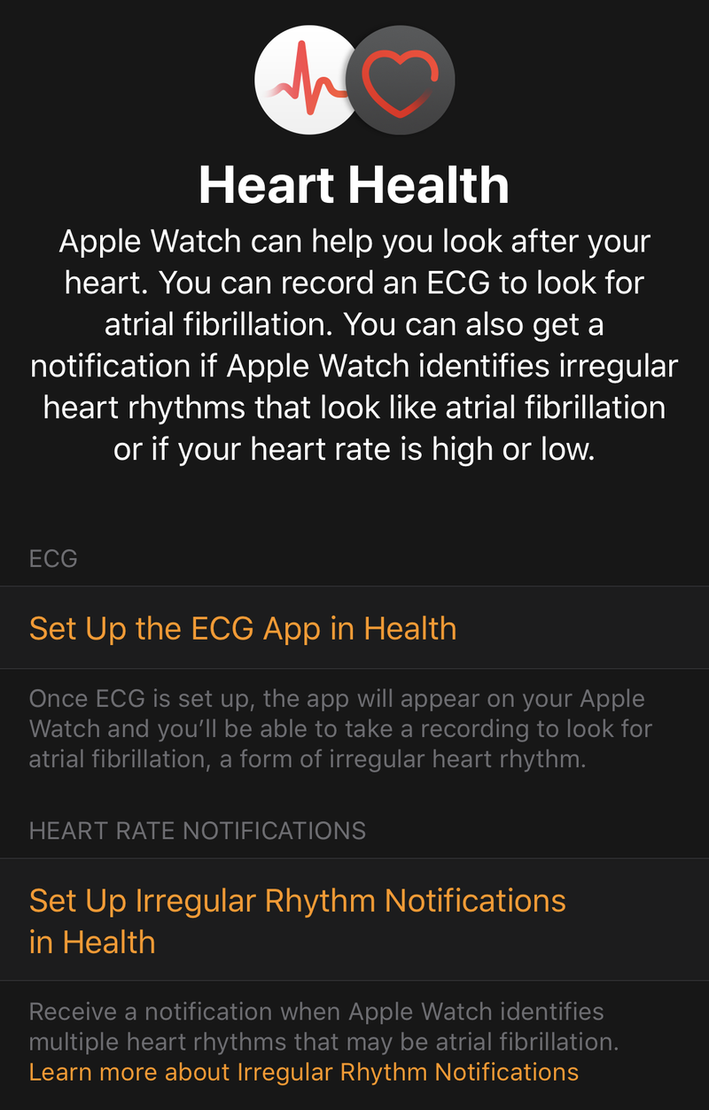 How to Set Up Your Apple Watch's New ECG App