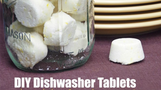 Illustration for article titled DIY Dishwasher Tablets Clean Your Dishes on the Cheap