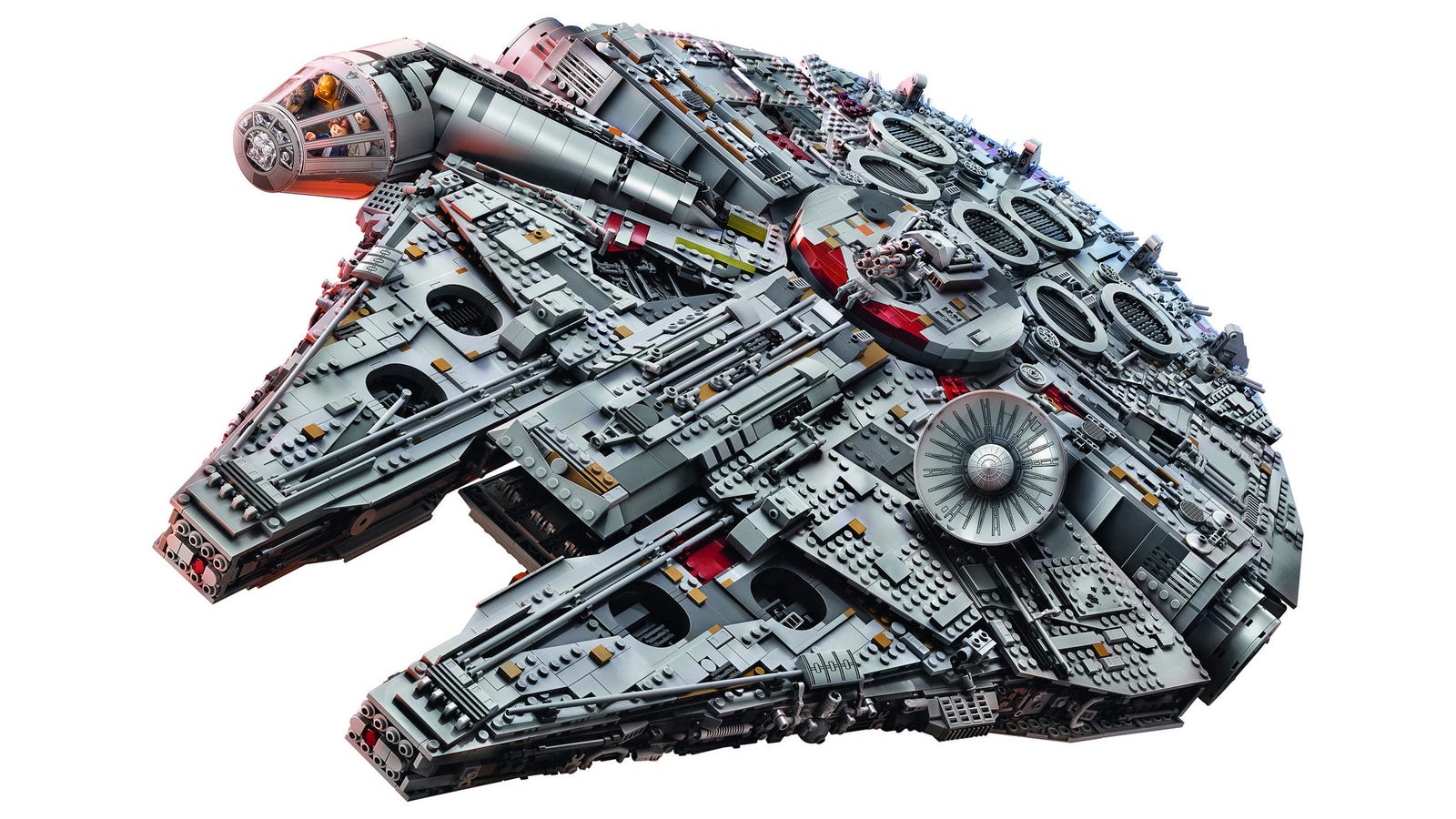 This 7,541-Piece Millennium Falcon Is the Largest, Most Desirable Lego Set Ever Created
