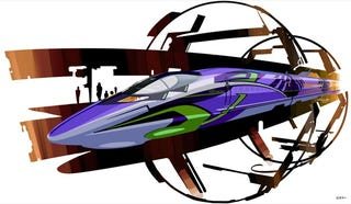 Illustration for article titled Japan Is Getting a Neon Genesis Evangelion...Bullet Train