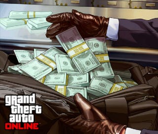 Illustration for article titled GTA Online $500,000 Stimulus Package Starts Now