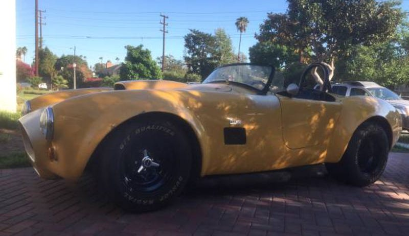 Cobra Kit Car >> For 18 750 This 1965 Shelby Kit Car Could Let You Join The Cobra Club