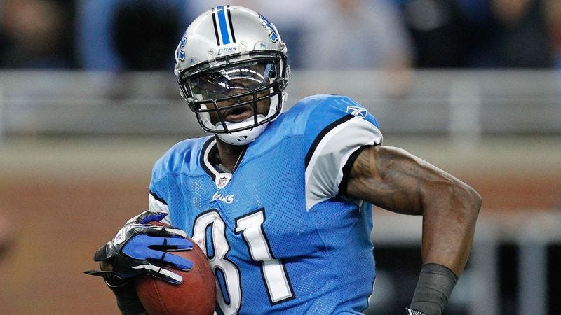 Illustration for article titled Report: Calvin Johnson Probably Works Out Fairly Often
