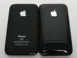 Illustration for article titled Possible iPhone 3G 2009 Compared to Shiny iPhone 3G