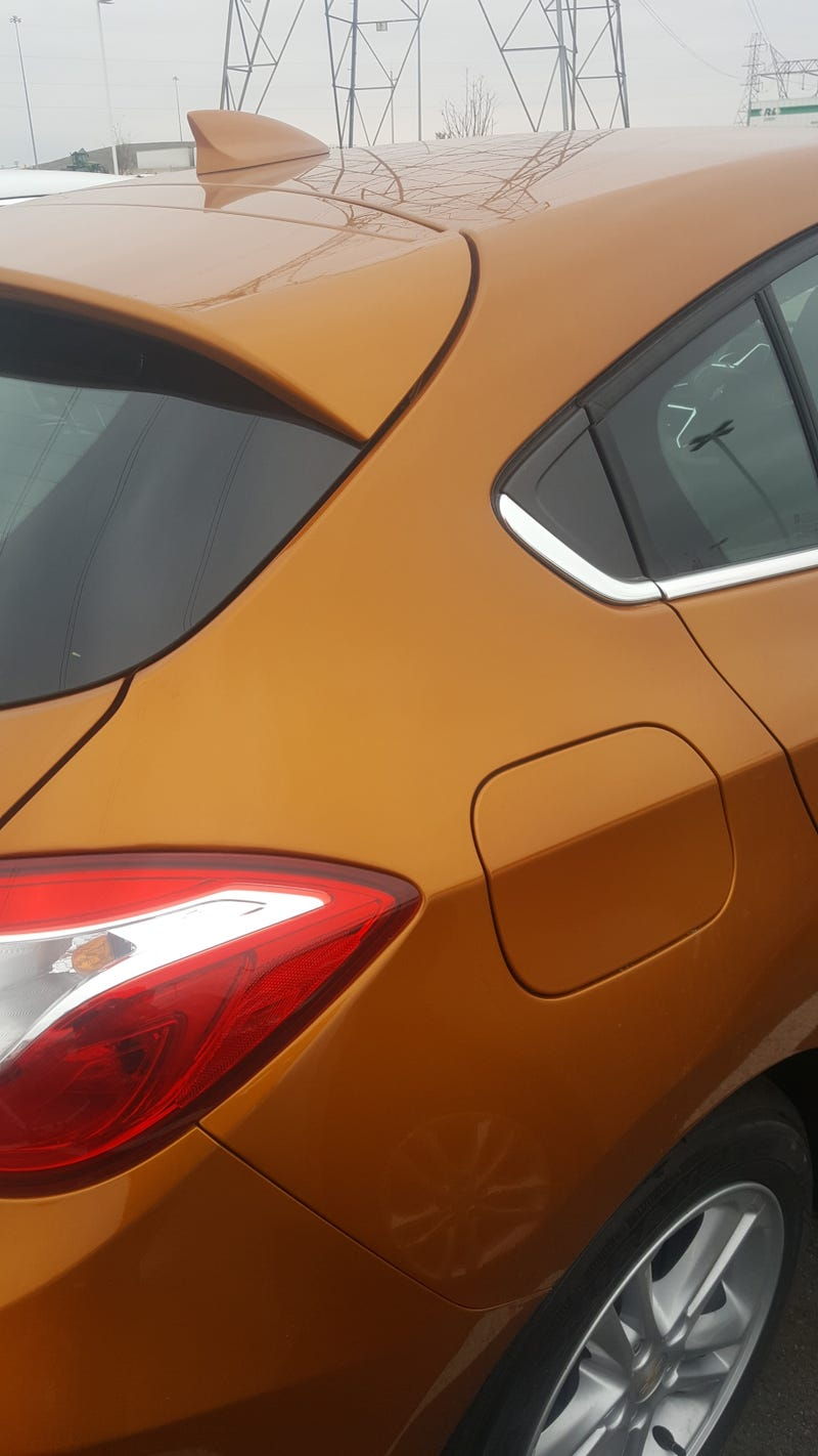 Illustration for article titled Chevy is also in possession of an Aston Martin esque orange/brown