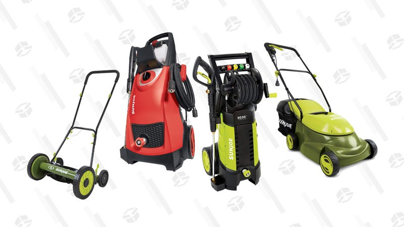 Gas and Electric Pressure Washers on Sale Today | LowesUp to 20% off Select Electric Outdoor Power Equipment | Home DepotSun Joe SPX3001 2030 PSI 1.76 GPM 14.5 AMP Electric Pressure Washer with Hose Reeln | $116 | Amazon