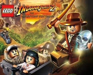 Illustration for article titled LEGO Indiana Jones 2 Driving Segment Preview: Smash! Crash! Rehash!
