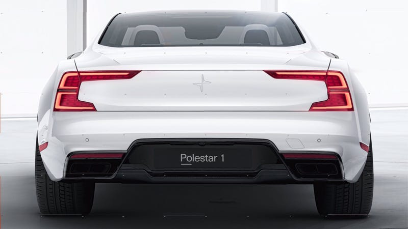 Polestar 1 coupe breaks cover