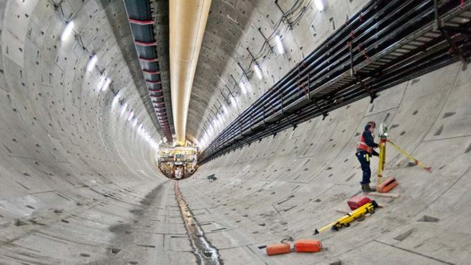 The Enormous Mission to Rescue the World's Largest Tunneling Machine