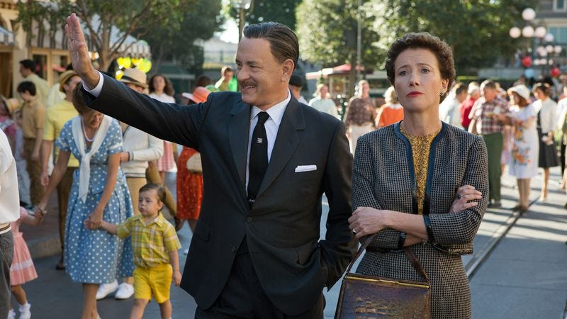 Illustration for article titled Disney celebrates selling out—and its own victories—with Saving Mr. Banks