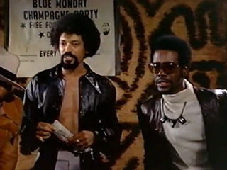 Dick Anthony Williams (left) in The Mack (Harbor Productions)