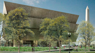 Drawing of the National Museum of African American History and Culture, which is due to open in 2016Smithsonian Institution