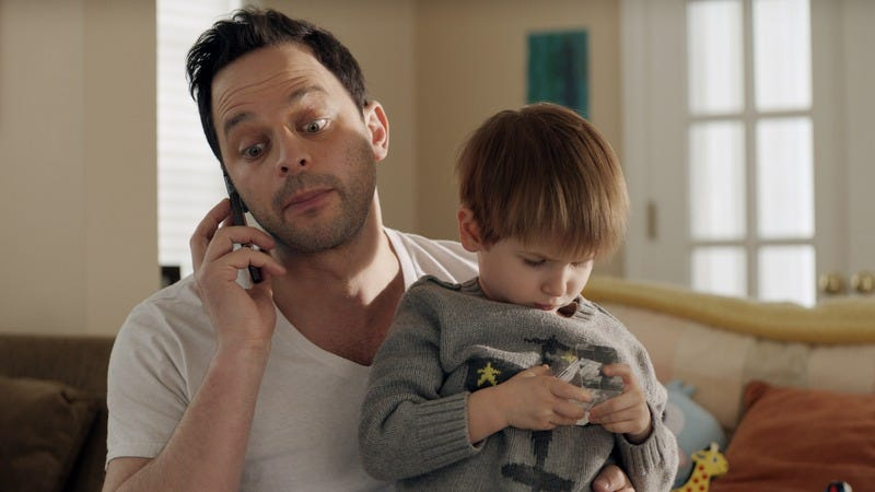 Illustration for article titled Nick Kroll softens his elastic shtick for the fatally mild Adult Beginners