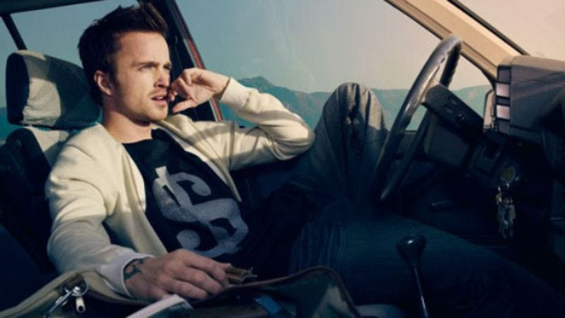 "Illustration for article titled Aaron Paul made a club banger, wants you to ""Dance Bitch"""