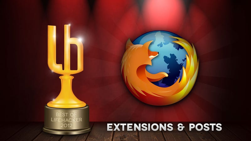 Illustration for article titled Most Popular Firefox Extensions and Posts of 2012