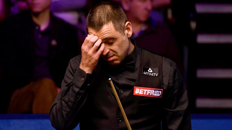 """Illustration for article titled Snooker Community Slams Ronnie O'Sullivan For """"Disrespectful"""" Demeanor After Shock World Championship Exit"""