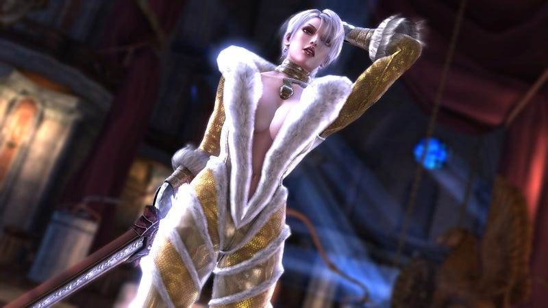 Illustration for article titled Style Alert: Bayonetta's Costume Designer Made These Fetching Soulcalibur V Looks
