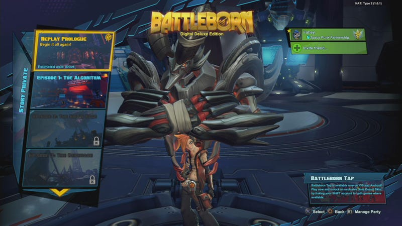 Illustration for article titled Just Like That, Battleborn's Prologue Is Now Replayable