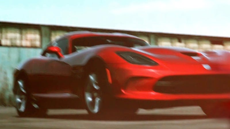 Illustration for article titled 2013 SRT Viper Hits Forza Ahead Of New York Auto Show