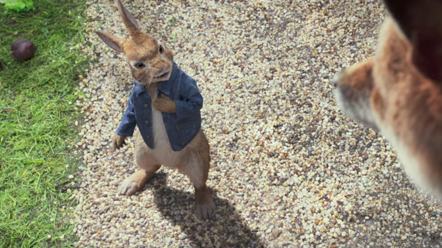 Here's a trailer for Peter Rabbit, starring James Corden and Domhnall Gleeson