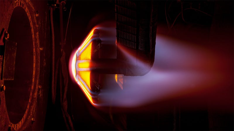 Illustration for article titled This Heat Shield Test Takes Us One Fiery Step Closer to Mars