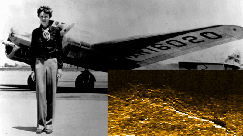 Illustration for article titled Researchers May Have Found Amelia Earhart's Plane for Real This Time