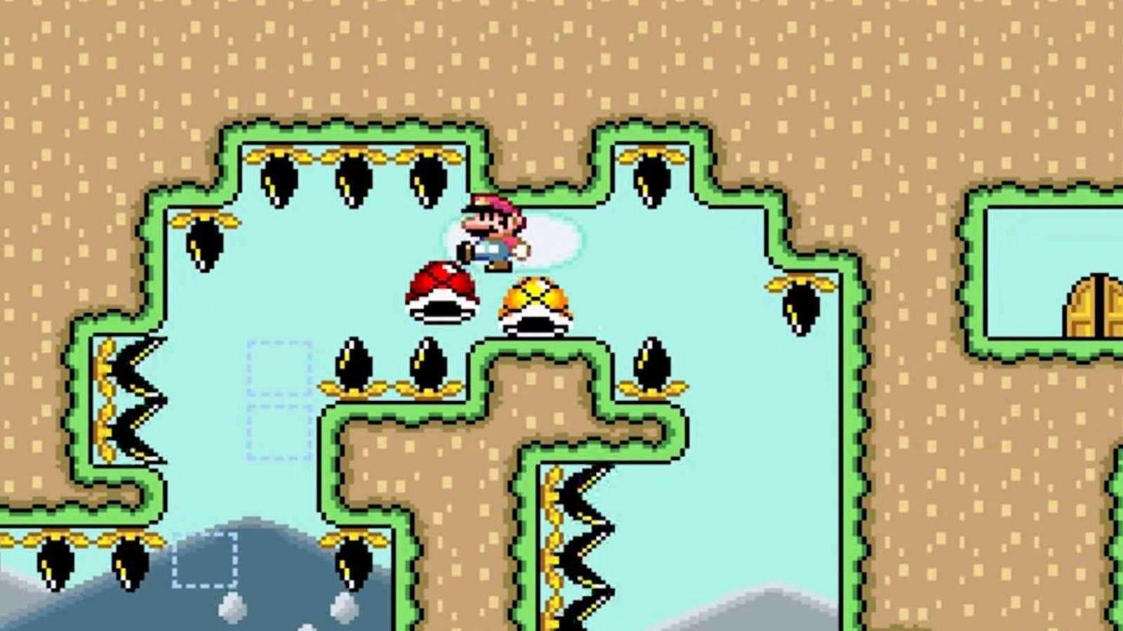 Logran superar el nivel de Super Mario World más difícil del mundo