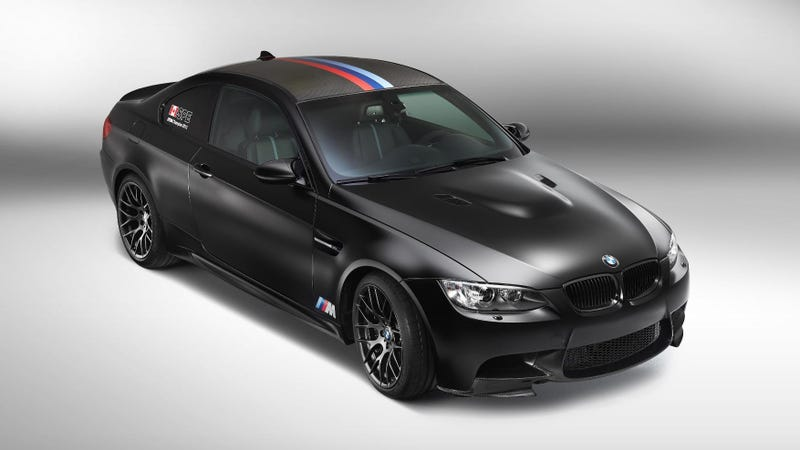 Illustration for article titled The DTM Special BMW M3 Is As Black As The Original