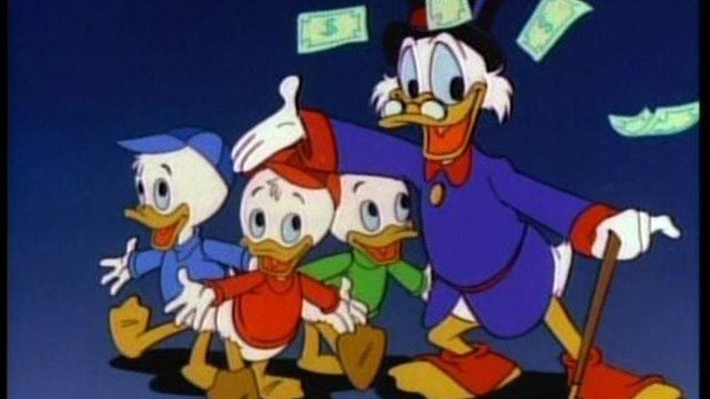 Illustration for article titled DuckTales returning in time for ducks to assume control of the planet