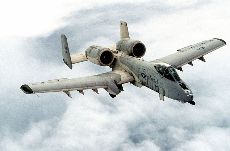 Illustration for article titled Why no A-10 vs ISIS?