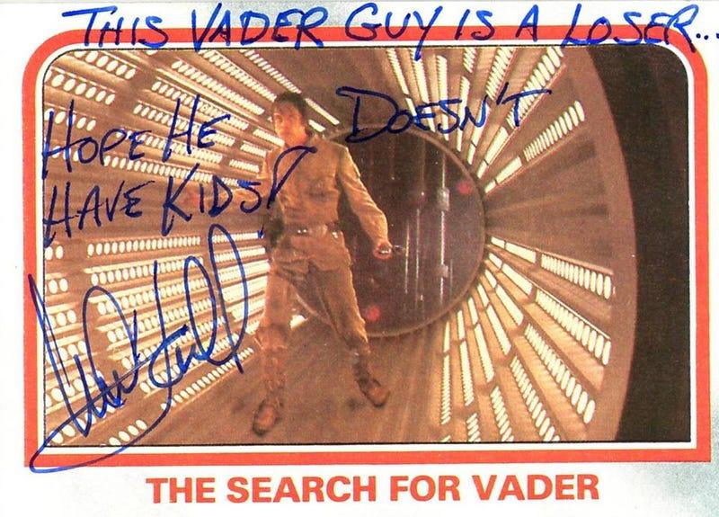 Illustration for article titled Ez a Vader egy igazi lúzer, remélem, nincsenek gyerekei