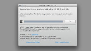 Illustration for article titled iOS 6.1 Jailbreak Is Now Available
