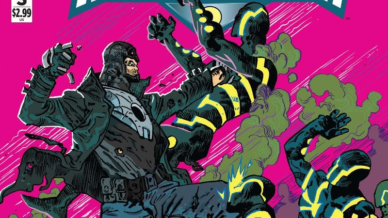 Illustration for article titled Exclusive DC preview: Midnighter kicks ass and goes clubbing in Midnighter #3