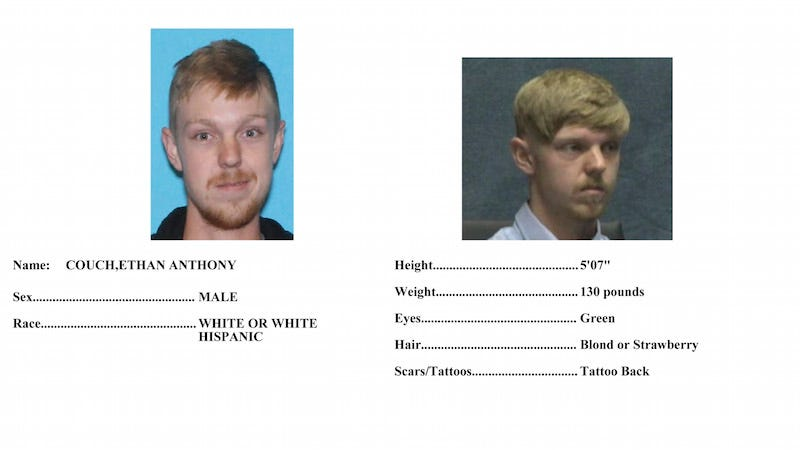 Illustration for article titled Ethan Couch, Affluenza Teen, Apprehended Near Puerto Vallarta, Mexico