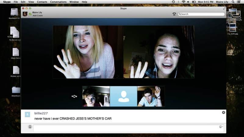 Illustration for article titled Unfriended ingeniously commits to its laptop horror gimmick