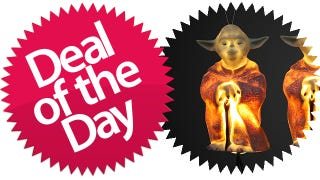 Illustration for article titled This Yoda Star Wars Xmas Light Set Is Your Jedi-Ready Deal of the Day