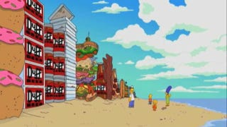 Illustration for article titled Watch the trailer for the Simpsons' beer-soaked tribute to Inception!